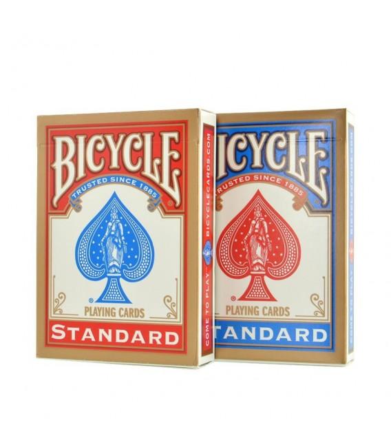 12 MAZZI DI CARTE DA GIOCO BICYCLE STANDARD, SPECIALE MAGIA