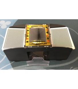 MISCHIACARTE AUTOMATICO PER 2 MAZZI DI CARTE (CARD SHUFFLER)