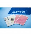 "CARTE DA GIOCO PTW ""ONE WAY "" 100% PVC"
