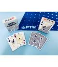 CARTE DA GIOCO PTW RFID 100% PVC