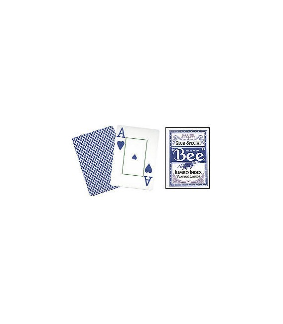 CARTE DA GIOCO BEE SPECIAL CLUB N°77 JUMBO INDEX
