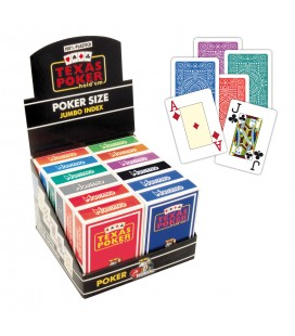 MODIANO TEXAS HOLD'EM 100% PVC
