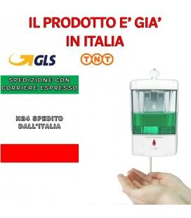 Dispenser 700 ml sapone Dispenser parete Dispenser con sensore IR no touch gel
