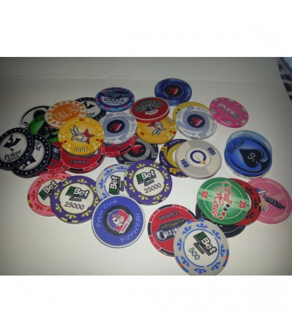 PROMO KIT 1000 CHIPS PERSONALIZZATE