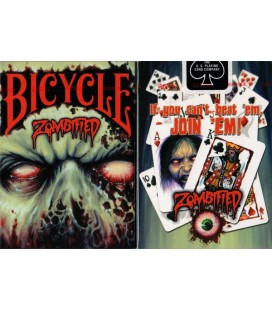 CARTE DA GIOCO BICYCLE ZOMBIFIED. MADE IN USA