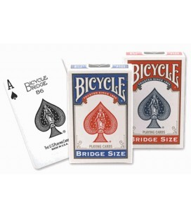 CARTE DA GIOCO BICYCLE STANDARD BRIDGE SIZE, DORSO BLU