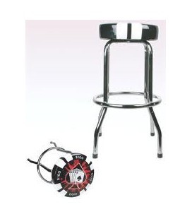 POKER CHIP BAR STOOL H.73CM