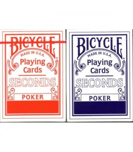 CARTE DA GIOCO BICYCLE SECONDS DORSO BLU