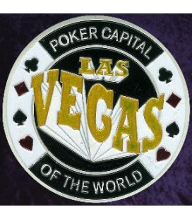GOODLAS VEGAS Metal Poker Card Protector ( silver color)