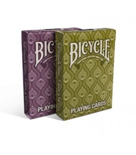 CARTE DA GIOCO BICYCLE PEACOCK PATTERN MIXED. MADE IN USA